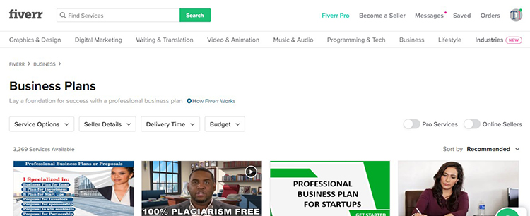 business-plan-fiverr