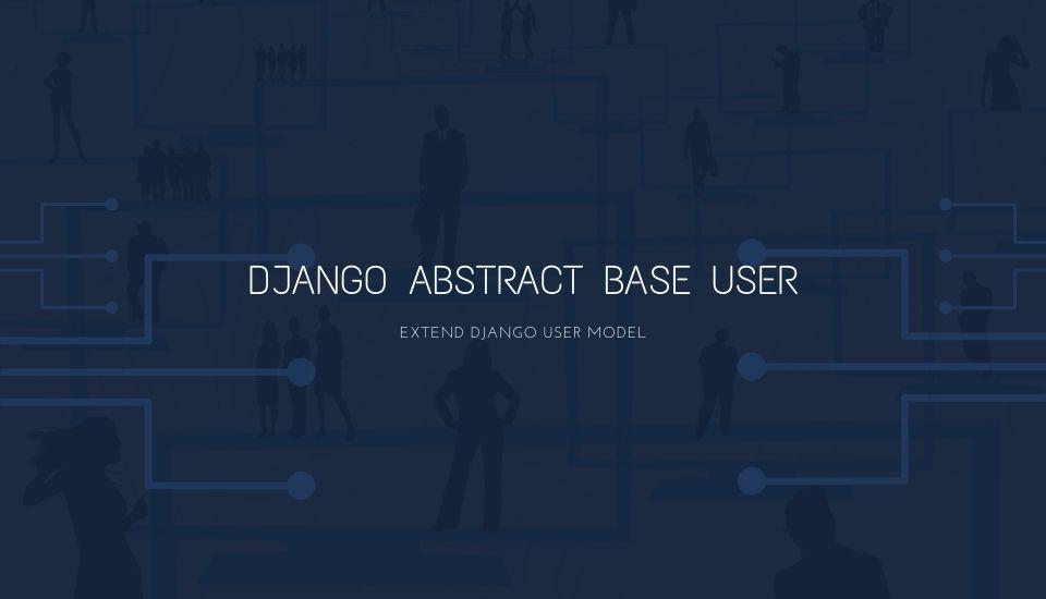 django-abstractbaseuser